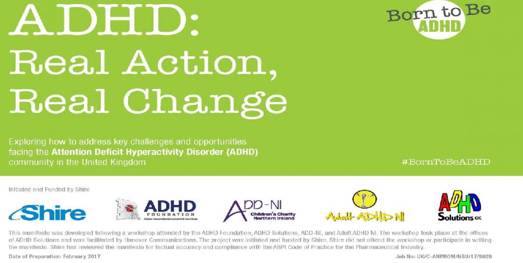 ADHD Manifesto